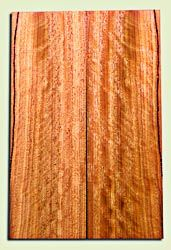 """OHES10453 - Ohia Solid Body Guitar or Bass Fat Drop Top Set, from Hawaii, Excellent Figure and Color,  Very Hard, Koa Alternative.  2 panels each  .32"""" x 7.5"""" x 24"""" S1S   Hawaiian Tonewood"""