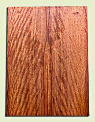 """OHES10465 - Ohia Solid Body Guitar or Bass Fat Drop Top Set, from Hawaii, Excellent Figure and Color,  Very Hard, Koa Alternative.  2 panels each  .375"""" x 8"""" x 22"""" S1S  Outstanding Hawaiian Tonewood"""