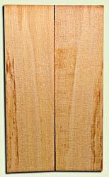 """CDES06895 - Curly Port Orford Cedar Solid Body Guitar Top Set, Good Figure, Salvaged Old Growth, Excellent Tap Tone, Strat or Bass Guitar size.  2 panels each  .18"""" x 9>6.5"""" x 22.5""""  S1S  Rare Guitar Wood"""
