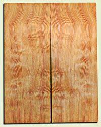 "DFES12250 - Wavy Douglas Fir Les Paul Guitar Top Set, Rare, 3/4 Sawn Old Growth, Alternative Guitar Wood.   2 panels each  .625"" x 7.75"" x 20""  S1S"