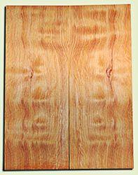 """DFES12256 - Wavy Douglas Fir Les Paul Guitar Top Set, Rare, 3/4 Sawn Old Growth, Excellent Guitar Wood.   2 panels each  .620"""" x 7.75"""" x 20""""  S1S"""