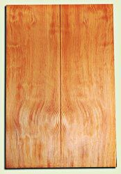 "DFES12259 - Wavy Douglas Fir Les Paul or Bass Guitar Top Set, Rare, 3/4 Sawn Old Growth, Stellar Guitar Wood.   2 panels each  .620"" x 8"" x 24""  S1S"