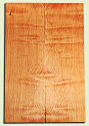 """DFES12264 - Wavy Douglas Fir Carved Top Guitar Set, Rare, 3/4 Sawn Old Growth, Outstanding Guitar Wood.   2 panels each  .95"""" x 8"""" x 24""""  S1S"""