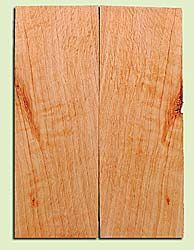 """CDES13473 - Port Orford Cedar, Solid Body Guitar or Bass Drop Top Set, Salvaged Old Growth, Excellent Color With Med Curl, Highly ResonantGuitar Wood, Adds Great Tonal Quality , 2 panels each 0.24"""" x 8"""" X 22"""", S1S"""