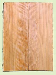 """CDES13486 - Port Orford Cedar, Solid Body Guitar or Bass Drop Top Set, Salvaged Old Growth, Very Good Color& Curl, Highly ResonantGuitar Wood, Adds Great Tonal Quality , 2 panels each 0.24"""" x 8"""" X 22"""", S1S"""
