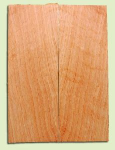 """CDSB13495 - Port Orford Cedar, Drop Top Set, Salvaged Old Growth, Very Good Color & Curl, Wide Grain, Adds Great Tonal Quality , 2 panels each 0.18"""" x 8"""" X 22"""", S1S"""
