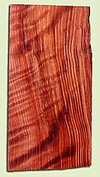 """RWHS15032 - Figured Redwood, Guitar Headstock Plate, Very Good Figure & Colors, Adds Pazzazz, Multiples Available, each 0.15"""" x 4"""" X 8"""""""