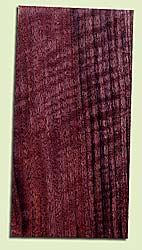"""WAHS15034 - Figured Claro Walnut, Guitar Headstock Plate, Very Good Figure & Colors, Adds Pazzazz, Multiples Available, each 0.15"""" x 4"""" X 8"""""""