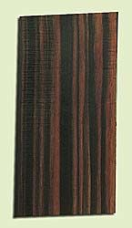 """EBHS15043 - Macassar Ebony, Guitar Head Plate, Hi Color Contrast, Rare Tonewood, Adds Pizzazz, Multiples Available, 1 panels each 0.15"""" x 4"""" X 8"""""""