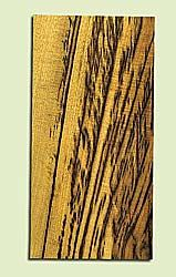 """MYHS15046 - Tiger Stripe Myrtlewood, Guitar Head Plate, Salvaged Old Growth, Amazing Color, Adds Pizzazz, Multiples Available, 1 panels each 0.2"""" x 4"""" X 8"""""""
