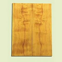 """DFES15908 - Wavy Douglas fir, Solid Body Guitar or Bass Drop Top Set, Salvaged Old Growth, Amazing Tap Tone, GreatGuitar Tonewood, , 2 panels each 0.3"""" x 8"""" X 21.5"""", S1S"""