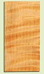 """CDHS16863 - Curly Port Orford Cedar, Guitar Headstock Plate, Air Dried, Excellent Colors& Curl, Adds Pazzazz, Multiples Available, each 0.15"""" x 4"""" X 8"""""""