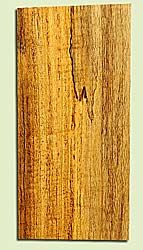 """MYHS16877 - Figured, Spalted Myrtlewood, Guitar Headstock Plate, Air Dried, Veru Good Color& Spalt, Adds Pazzazz, Multiples Available, each 0.15"""" x 3.5"""" X 7"""""""