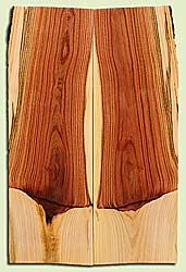 """PIES17956 - Pistachio, Solid Body Guitar or Bass Drop Top Set, Salvaged from Commercial Grove, Excellent Color& Contrast, PremiumGuitar Wood, 2 panels each 0.2"""" x 7.5"""" x 23"""", S2S"""