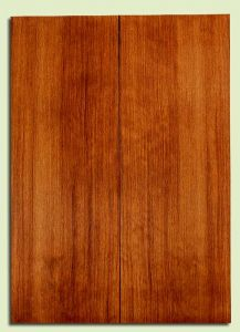 """RWES31876 - Redwood Drop Top Set, Med. to Fine Grain Salvaged Old Growth, Excellent Color& Contrast, GreatGuitar Tonewood, 2 panels each 0.18"""" x 8"""" x 22"""", S2S"""