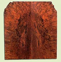 """RWSB33040 - Redwood, Solid Body Guitar Drop Top Set, Med. to Fine Grain Salvaged Old Growth, Excellent Color& Curl, GreatGuitar Wood, 2 panels each 0.21"""" x 8.75"""" x 19.25"""", S2S"""