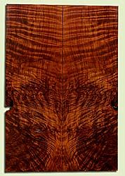 "RWSB33083 - Redwood, Solid Body Guitar Drop Top Set, Med. to Fine Grain Salvaged Old Growth, Excellent Color & Curl, Great Guitar Wood, 2 panels each 0.28"" x 7.75"" x 23"", S2S"