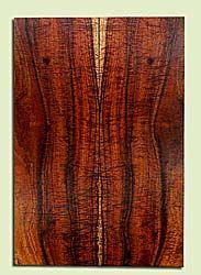 "KOES33542 - Koa, Solid Body Guitar Fat Drop Top Set, Med. to Fine Grain, Excellent Color& Curl, RareGuitar Wood, 2 panels each 0.37"" x 7.25"" x 21.25"", S2S"