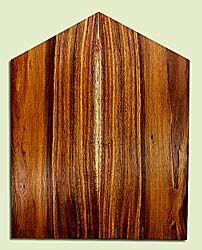 "KOES33543 - Koa, Solid Body Guitar Fat Drop Top Set, Med. to Fine Stripey Grain, Excellent Color& Curl, RareGuitar Wood, 2 panels each 0.38"" x 8"" x 16.25 to 20.5"", S2S"