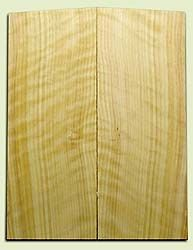 """CDES06970 - Rare Curly Port Orford Cedar Solid Body Guitar Top Set, Good Figure, Salvaged Old Growth, Excellent Tap Tone, Strat or Bass Guitar size.  2 panels each  .20"""" x 8"""" x 20.5""""  S1S  Superior Guitar Wood"""