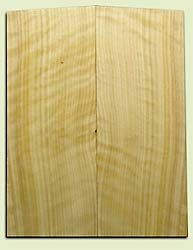 """CDES06971 - Rare Curly Port Orford Cedar Solid Body Guitar Top Set, Good Figure, Salvaged Old Growth, Excellent Tap Tone, Strat or Bass Guitar size.  2 panels each  .20"""" x 8"""" x 20.5""""  S1S  Superior Guitar Wood"""