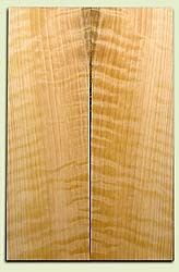 """CDES06979 - Rare Curly Port Orford Cedar Solid Body Guitar Top Set, Very Good Figure, Salvaged Old Growth, Excellent Tap Tone, Strat or Bass Guitar size.  2 panels each  .24"""" x 7.5"""" x 23.5""""  S1S  Superior Guitar Wood"""