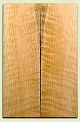 """CDES06980 - Rare Curly Port Orford Cedar Solid Body Guitar Top Set, Very Good Figure, Salvaged Old Growth, Excellent Tap Tone, Strat or Bass Guitar size.  2 panels each  .24"""" x 7.5"""" x 23.5""""  S1S  Superior Guitar Wood"""
