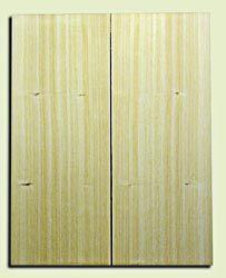 "CDSB09979 - Port Orford Cedar Solid Body Guitar Drop Top Set, Fine Straight Grain, Salvaged Old Growth,  . 2 panels each .20"" x 8.5"" x 21.7"" S1S Fine Guitar Wood"